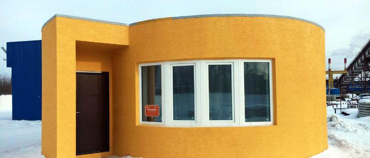 Construye tu casa en 24 horas con tecnología de impresión 3D