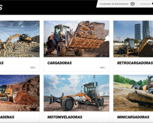 CASE Construction Equipment lanza una nueva web