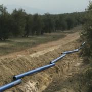 La gama de fundición dúctil Blutop transporta el agua potable en Jaén