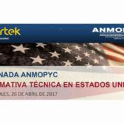 ANMOPYC celebra en Smopyc una Jornada de normativa técnica en EEUU