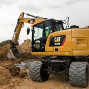 Disponible la nueva gama de excavadoras de ruedas Cat serie F