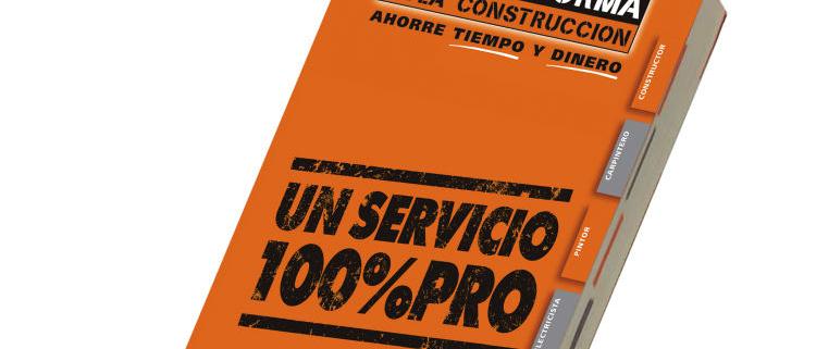 Nuevo Catálogo Tarifa de LA PLATAFORMA DE LA CONSTRUCCIÓN