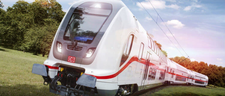 25 trenes BOMBARDIER TWINDEXX Vario de doble piso para Deutsche Bahn