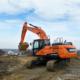Nueva excavadora Doosan DX225LC-5 de alto rendimiento
