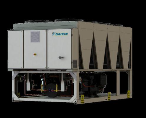 Daikin presenta sus nuevas Unidades Enfriadoras Inverter Aire-Agua EWAD-TZB