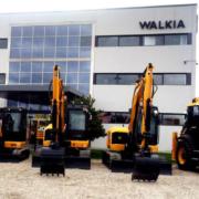 WALKIA JCB entrega catorce máquinas a TRAGSA