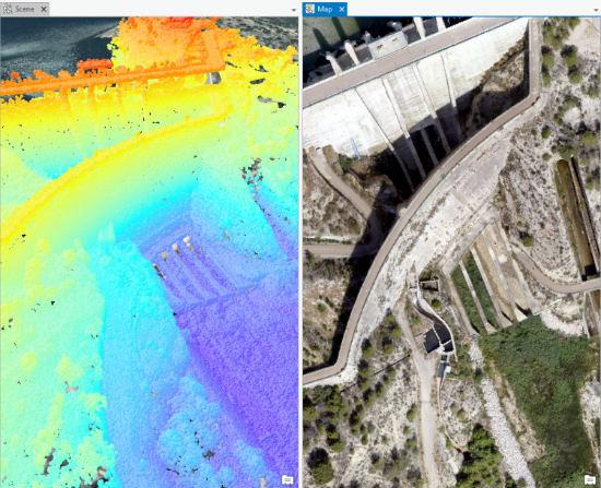 Los drones ya miden cada gota de la cuenca del Segura
