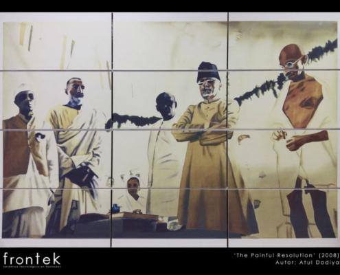 Greco Gres afianza su colaboración con el artista hindú Atul Dodiya