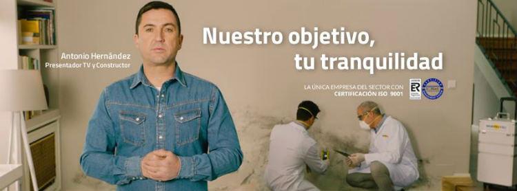 Antonio Hernández, presentador de Constructor a la Fuga, protagoniza la nueva campaña de Murprotec