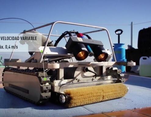 Limpieza de depósitos de agua con robots