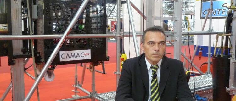 Maquinaria para rehabilitación de CAMAC en SMOPYC 2017