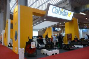 Cohidrex presenta la gama de martillos hidráulicos Trasteel tech en SMOPYC 2017