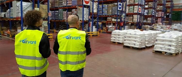 El dron de Airvant que revoluciona el almacén