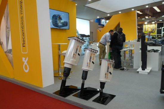 Implementos para maquinaria de Cohidrex en SMOPYC 2017