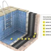 Weber lanza el sistema impertec Flexible para terrazas y piscinas