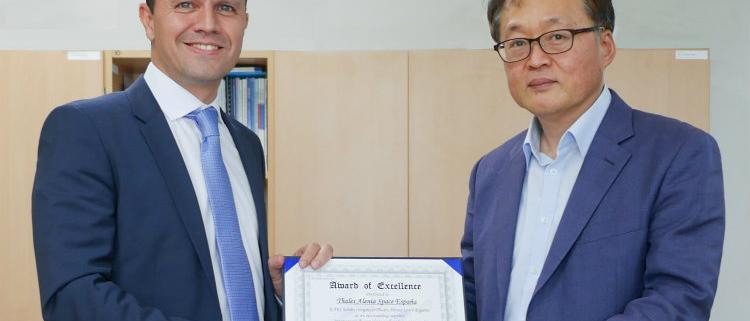 KARI otorga el Premio a la Excelencia a Thales Alenia Space España