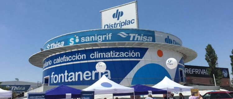 SANIGRIF THISA celebra su II Feria del Instalador