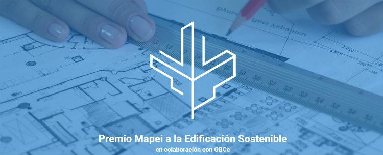 GBCe colabora en el I Premio Mapei a la Edificación Sostenible