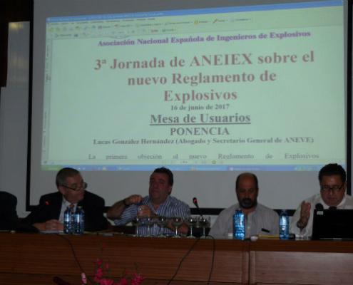 3ª Jornada de ANEIEX sobre el nuevo Reglamento de Explosivos