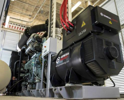 Genesal Energy participa en la construcción del primer túnel sumergido de Latinoamérica