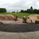 JCB presenta sus nuevos productos en su fábrica de Rocester, Staffordshire