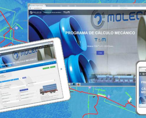 Molecor actualiza el Programa de Cálculo Mecánico TOM