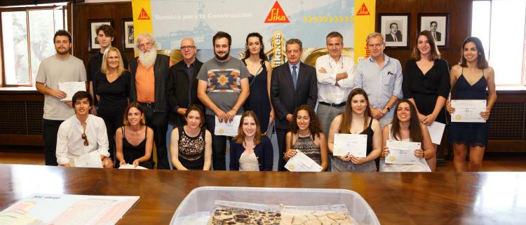 XXII Premios del Prontuario Sika para estudiantes de arquitectura