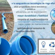 Tuberías TOM de PVC Orientado Clase 500 en la modernización sostenible de regadíos