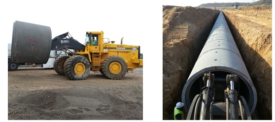 Buenas prácticas de instalación y montaje de tubos de hormigón