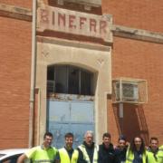Nuevo enclavamiento electrónico en la estación de Binéfar (Huesca)