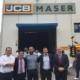 MASER, nuevo distribuidor de JCB, inaugura sus instalaciones en Amorebieta