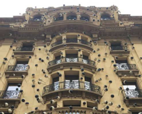 Weber.therm mineral para la fachada del Hotel OHLA Barcelona