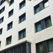 Sistemas weber.therm en la fachada del Grupotel Gran Vía 678