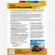 AENOR reconoce a Knauf con el Certificado de Gestión Minera Sostenible