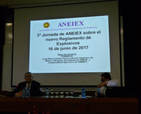 Demanda de ANEIEX al Nuevo Reglamento de Explosivos