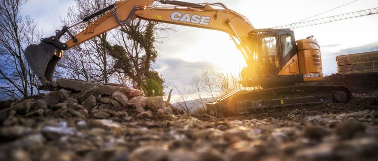 Eficiencia y precisión con la nueva excavadora CX245D de Case