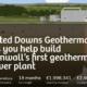 Proyecto geotérmico de Reino Unido recauda fondos a través de crowdfunding