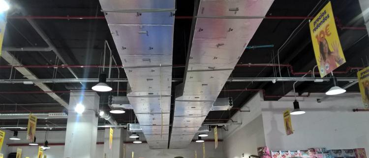 22.000 metros cuadrados de conductos URSA AIR en el nuevo Outlet de Leganés (Madrid)