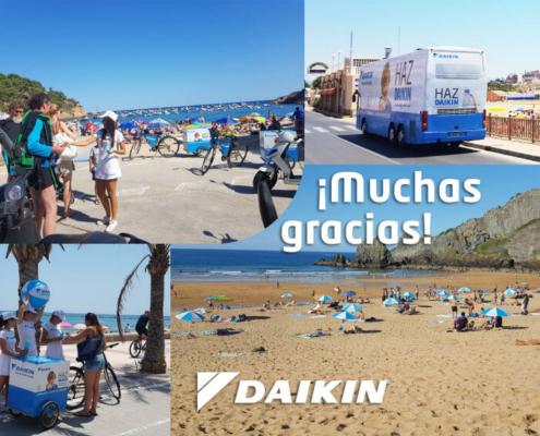 Daikin pone fin a su Ruta del Calor del verano 2017