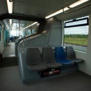 Vehículos con sistemas de transporte sin conductor en Bangkok
