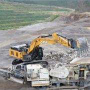 CASE optimiza la línea de excavadoras pesadas con la nueva CX750D