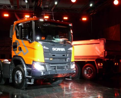Actulización de motores en la nueva generación de camiones de Scania