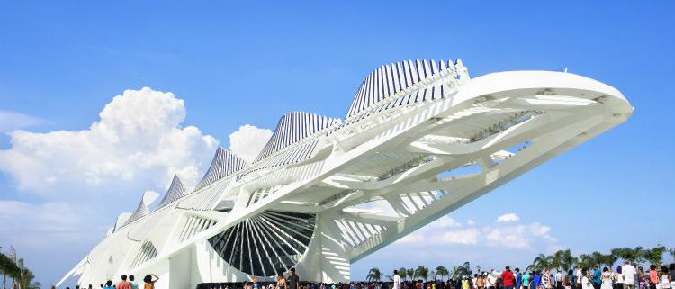 """El Museo del Mañana de Río de Janeiro, con vidrio español de Guardian Glass, gana el Premio MIPIM 2017 al mejor edificio """"verde"""""""