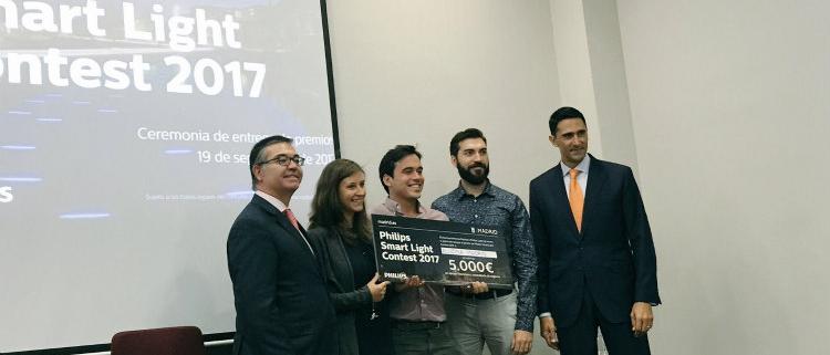 """Aluzina Madrid, ganador de la primera edición del reto """"Philips Smart Light Contest 2017"""""""