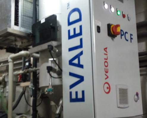 Tecnología EVALED para la evaporación de los efluentes hospitalarios