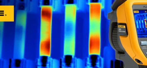 Fluke explica las características de las cámaras termográficas profesionales