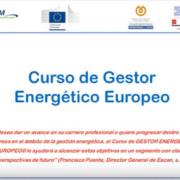 XII Curso de Gestor Energético Europeo en modalidad on-line