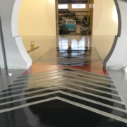 Pavimentos continuos en las nuevas instalaciones de JJDLUXE CARS