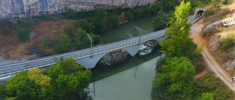 """TECYR recibe el premio """"La Mejor Obra Sika"""" por su obra de emergencia en un puente ferroviario"""