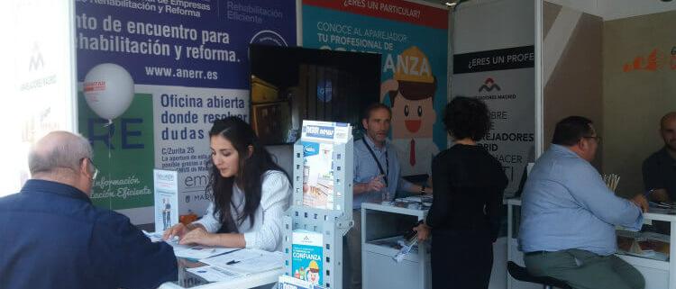 ANERR presentó sus proyectos y la oficina SiRE en Rehabitar Madrid